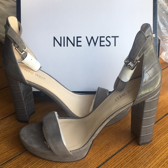 7a5ae6842529 NWT Nine West Dempsey Platform Sandals